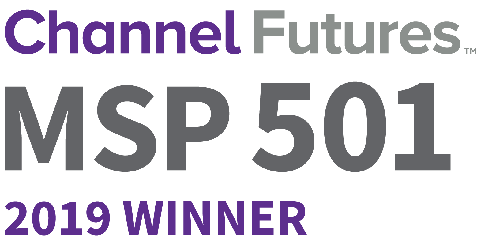 MSP501 Channel Futures Award Winner