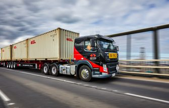Secon Freight Logistics Truck - case study