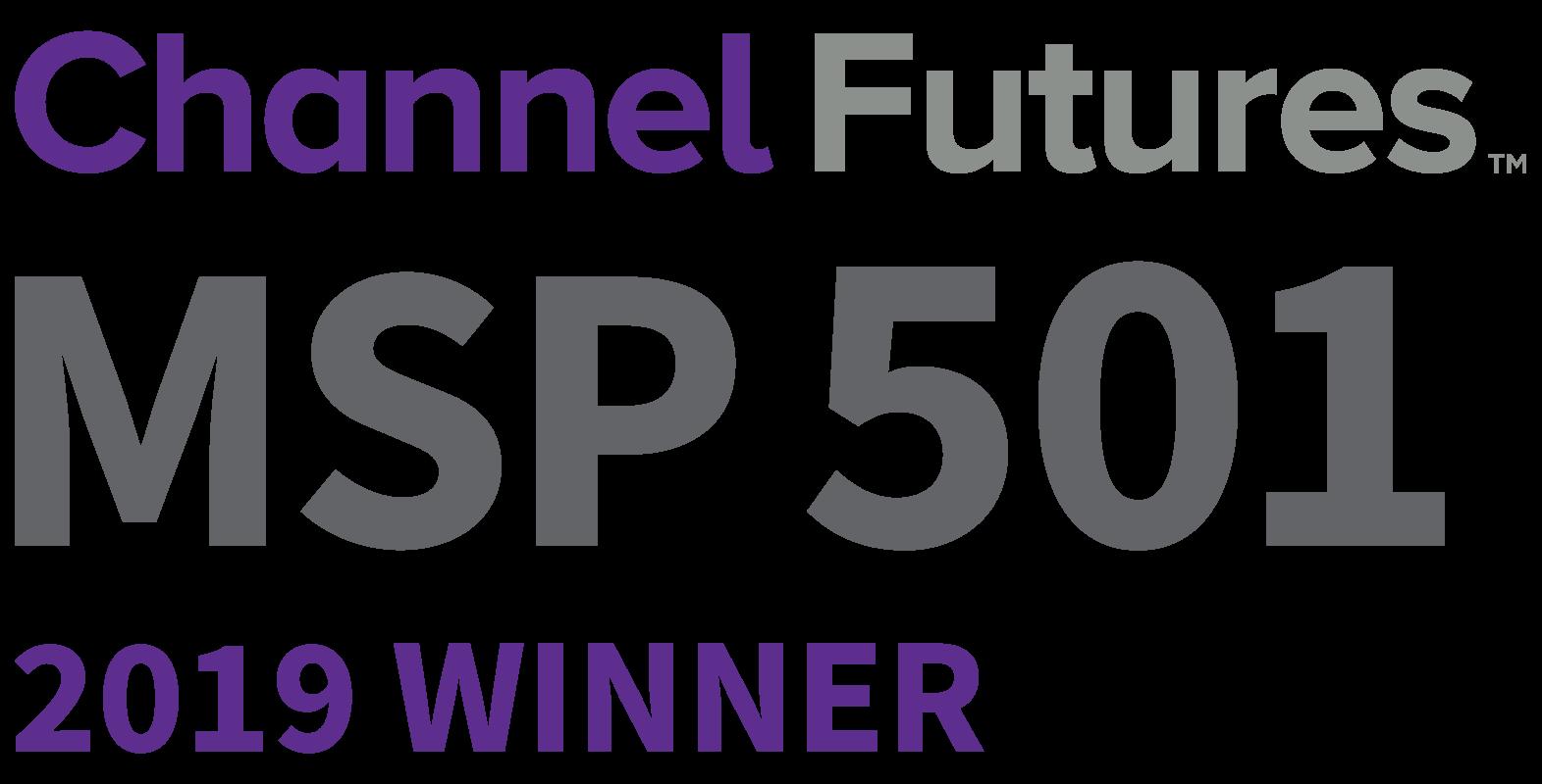 Winner 2019 MSP 501