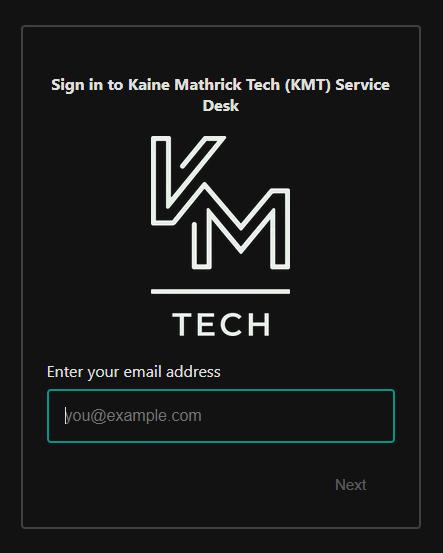 KMT IT Support Portal
