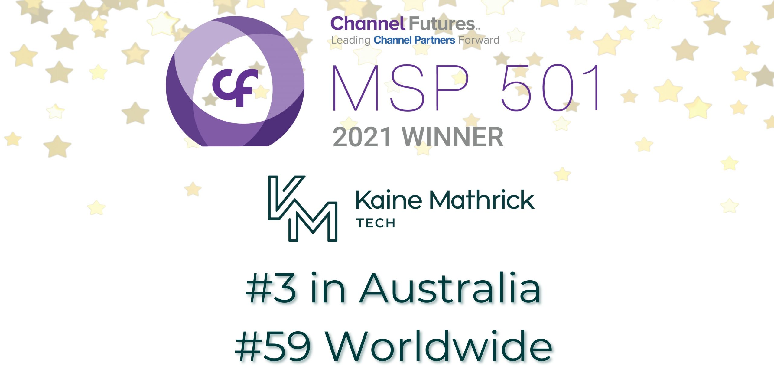 Ranked Best Australian MSP Channel Futures MSP 501—Tech Industry's Most Prestigious List of Global Managed Service Providers
