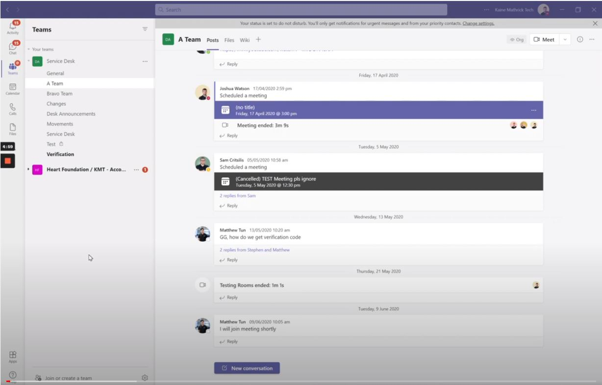 SharePoint Training Part 4: Collaborating in Teams